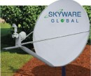 Reception team: VSAT antenna, modem access, protector