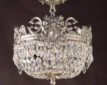 Empire style lamp hanging lamp Crystal Lead