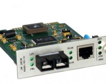 MEDIA CONVERTER CARD TYPE MM SC