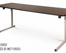 Folding table MP910002 200X60 PVC / CRO