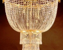 Crystal lamp Empire