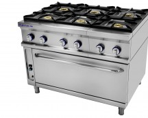 Gas cooker burners 6
