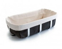 Breadbasket fabric with 27x12x12 cm Structure Inox Lacor