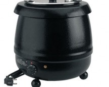 OLLA SOUP WARMER electric iron ESMALTADO