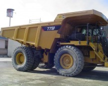 RIGID DUMPER 775F USED DLS00728