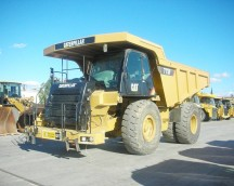 775F rigid dumper used DLS00656