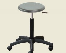 Stainless stool seat