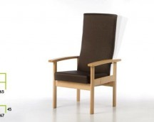 AKIRA ARMCHAIR HIGH BACK IN 4 POSITIONS RECLINABLE