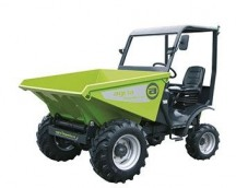Dumpers 1.6 tons of load capacity