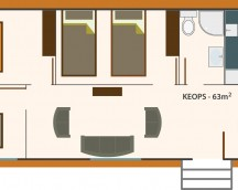 Industrialized Modular housing KEOPS Model 63m2