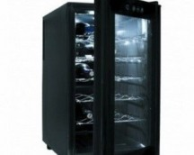 ELECTRICAL CABINETS REFRIGERATORS 18 BOTTLES BLACK LINE