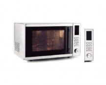 Microwave oven with turntable + Grill