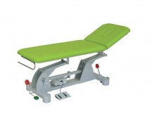 Massage table examination and treatment