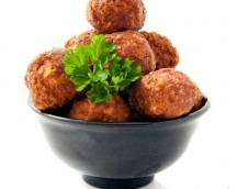 MEATBALL MIXTA, PORK AND BEEF, MASTERFRITS