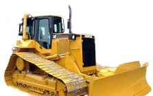 Crawler tractors for construction