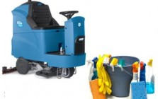 Cleaning machinery and products