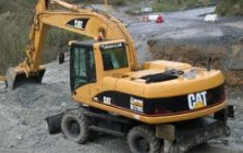 Wheel excavators for construction