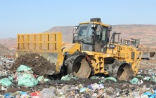Compactators for landfills for construction