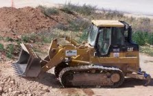 Track loaders for construction