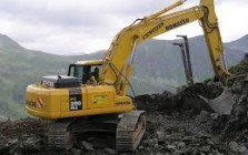 Crawler excavators for construction