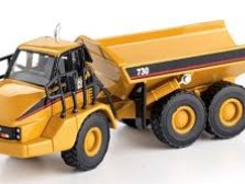 Articulated dumpers for construction